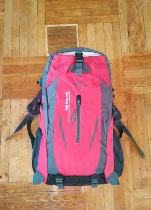 Рюкзак городской, розовый, 40 литров