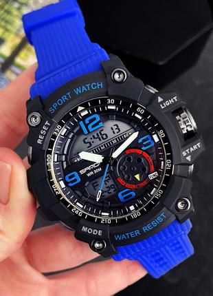 Мужские наручные часы Sanda 759 Blue-Black