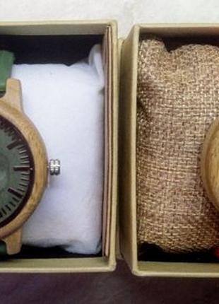 BOBO BIRD деревянные кварцевые часы японский механизм