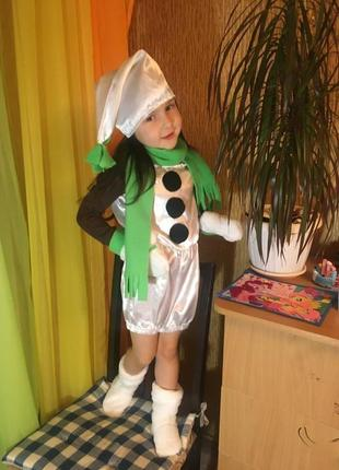Прокат костюм Снеговик