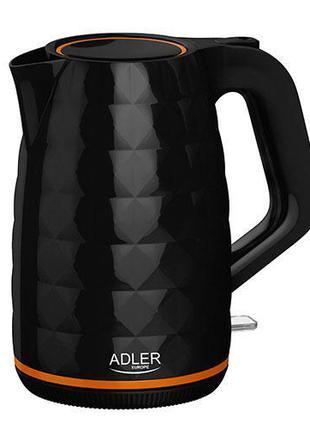 Чайник электрический Adler AD 1277 black 1,7L