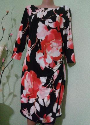 Обворожительное яркое платье