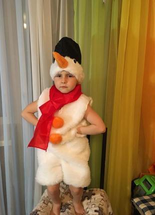 Прокат костюм снеговика