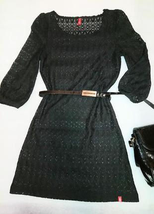 Чудесное платье из дорогого кружева ,от esprit s-м