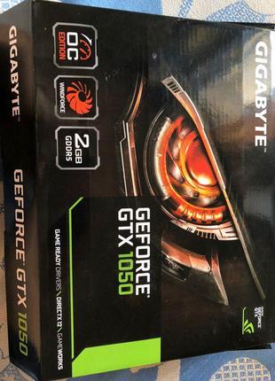 Gigabyte PCI-Ex GeForce GTX 1050 OC 2GB GDDR5 (128bit)