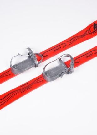Топ! Детские лыжи с палками Marmat Vikers 90 см - 4 цвета!