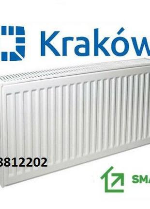 Настоящий стальной радиатор батарея для отопления тип 22 Krakow