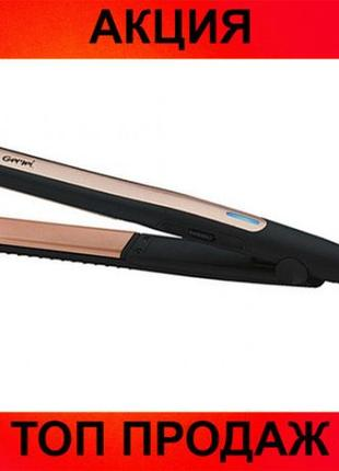 Утюжок для выравнивая волос Gemei GM 2955 турмалиновое покрытие