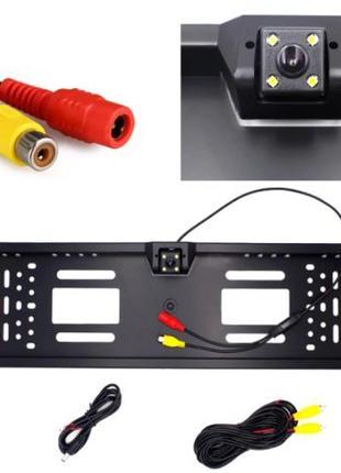 Рамка для номера камера заднего вида с подсветкой JX-9488