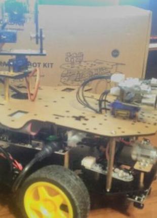 Программируемый робот-конструктор Yahboom 4WD Smart Robot