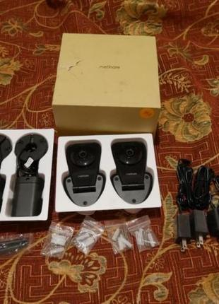 Комплект видеонаблюдения MeShare 1080p 4 камеры доступ со смар...