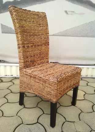 стулья из натурального ротанга