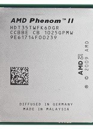 Процессор AMD Phenom II X6 1035T 2.6GHz sAM3