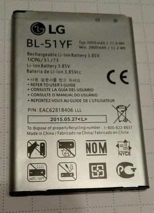 Аккумулятор  LG  BL-51YF