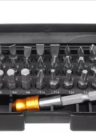 Набор бит 30шт + удленитель из хромованадиевой стали