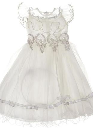 Нарядное платье на девочку. новогоднее платье
