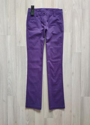 Брюки щоденні брюки фиолетовые брюки