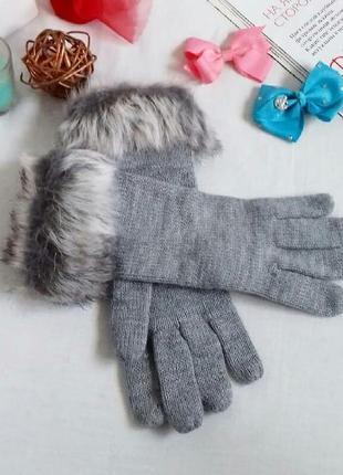 Шикарные перчатки вязаные next