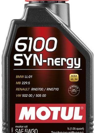 Масло моторное MOTUL 6100 SYN-NERGY SAE 5W30 (1L)   107970