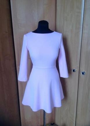 Платье с открытой спиной zara р.34