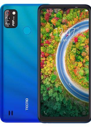 Смартфон TECNO POP 4 Pro (BC3) 1/16Gb Dual SIM Vacation Blue