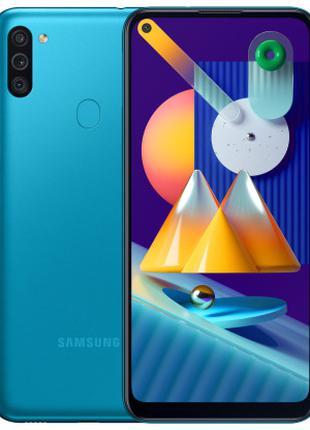 Смартфон SAMSUNG Galaxy М11 3/32 GB Blue (SM-M115FMBNSEK)