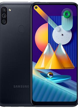 Смартфон SAMSUNG Galaxy М11 3/32 GB Black (SM-M115FZKNSEK)