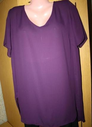 Длинная блуза туника, цвет сезона 20 р.
