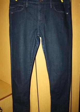 Синие классические джинсы, хл