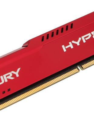 DDR3 4GB/1866 Kingston HyperX Fury Red (HX318C10FR/4)