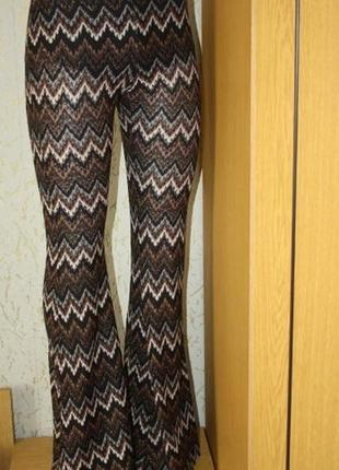 Стильные летние брюки, морской стиль, с