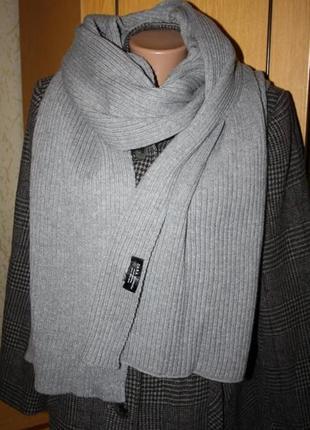 Большой шарф шаль палантин