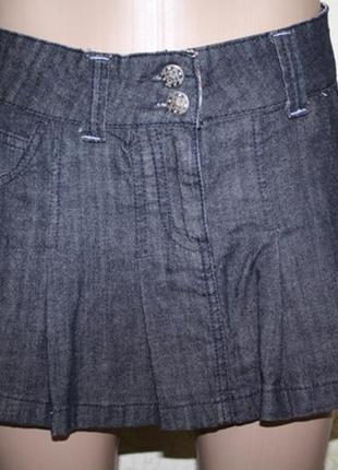 Джинсовая юбочка как новая