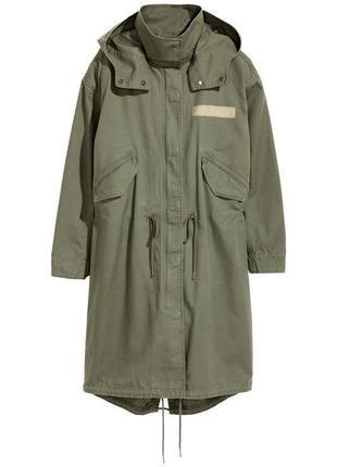 H&m новая куртка парка