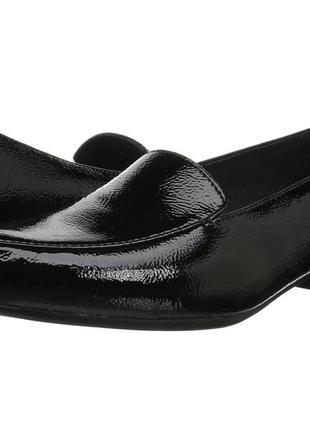 Лоферы 43-44 р туфли лаковые кожаные большой размер