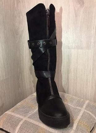 Сапоги зимние ботинки зима новые