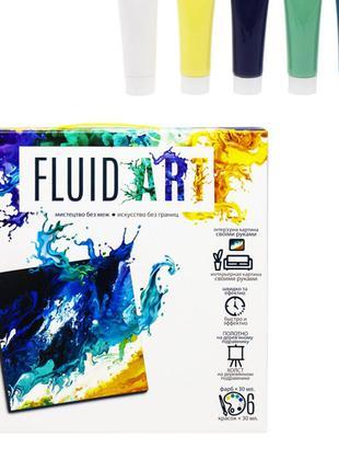 "Набор для творчества ""Fluid art"" Dankotoys FA-01-02"