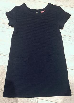 Распродажа! 1+1=3! темно синее платье