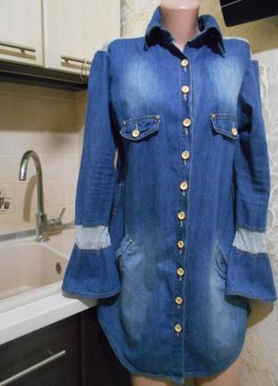 #anna marye#made in colombia#крутое джинсовое платье-рубашка #