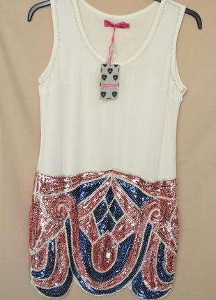 Красивое женское платье boohoo англия размер 12