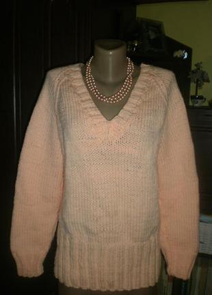 Шикарнейший неймовірний теплий світер-джемпер-пуловер (кофта) ...