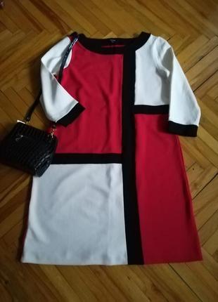 Красивое оригинальное платье от дорогого бренда comma