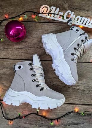 Крутые женские ботинки сапоги кроссовки