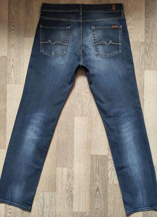 Продам мужские джинсы For all 7 mankind, размер 34/32