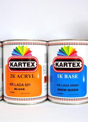 Автоемаль KARTEX