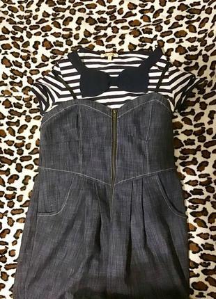 Сарафан плаття джинс