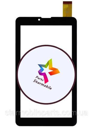 Сенсор (тачскрин) планшета Pixus Play Three V4.0 (185*104) черный
