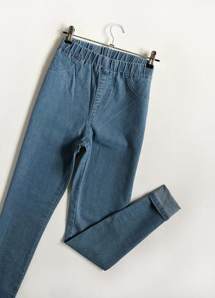 Обалденные базовые узкие джинсы с высокой посадкой