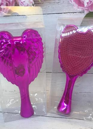 Расческа- щетка для волос,цвет розовый (маленькая) к.16046