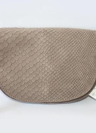 Замшевая сумка-кроссбоди c&a, германия